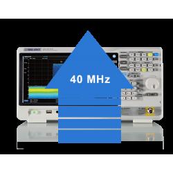 SSA3000XR-RT40-Extension de la bande passante à 40 MHz en mode...