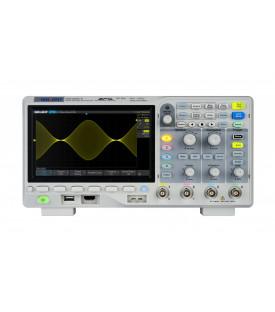 SDS1104X-E-Oscilloscope numérique 4 voies 100 MHz