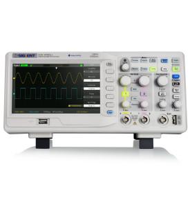 SDS1052DL+-Siglent SDS1052DL+ Oscilloscope 2x50 MHz
