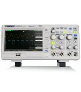 SDS1102CML+-Oscilloscope numérique 2 voies 100 MHz