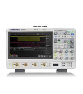 SDS5034X-Oscilloscope numérique 4 voies 350 MHz écran...