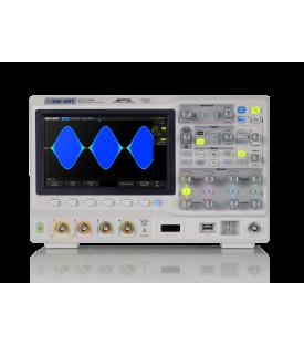 SDS2204X-Oscilloscope numérique 4 voies 200 MHz