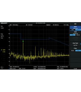 SVA1000X-EMI-Kit pré-conformité EMI avec détecteur...