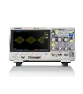 SDS1202X+-Oscilloscope numérique 2 voies 200 MHz avec...