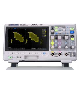SDS1102X-Oscilloscope numérique 2 voies 100 MHz