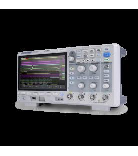 Vue de côté de l'oscilloscope siglent SDS1104X-U